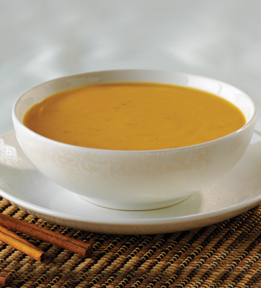 SIGNATURE SWEET POTATO BISQUE
