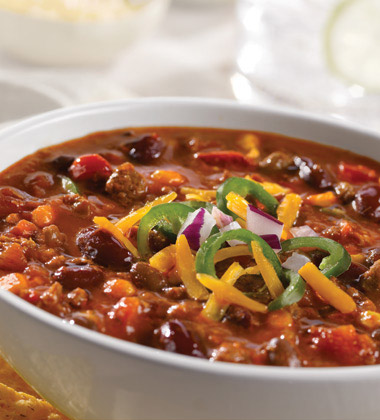 Signature Hearty Beef Chili with Beans