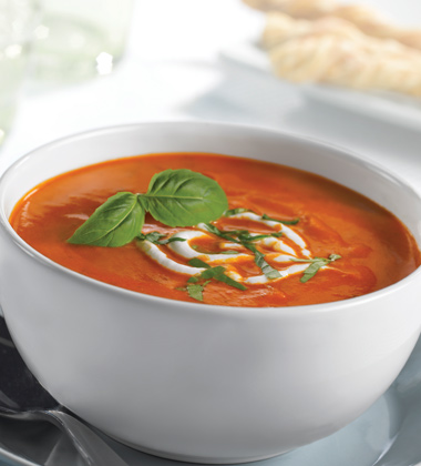 Signature Tomato Bisque with Basil