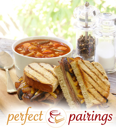 Perfect Pairings: Market Vegetable Soup with a Mushroom & Caramelized Onion Sandwich