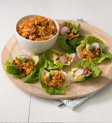Chipotle Chicken Lettuce Tacos