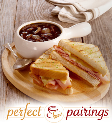 Perfect Pairings: French Onion Soup with a Croque Monsieur