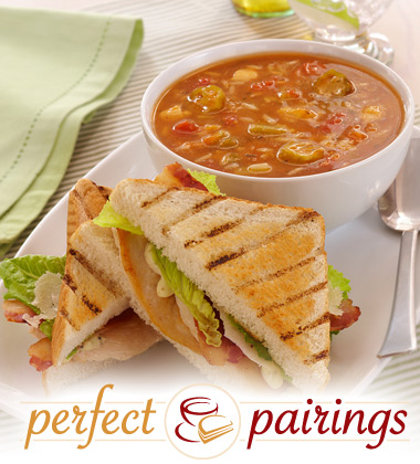 Perfect Pairings: Creole Chicken Gumbo with Spicy Chicken Caesar Salad Sandwich