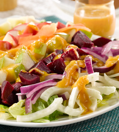 Harvest Salad with Butternut Squash Vinaigrette