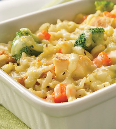 Easy Baked Chicken & Rice Casserole