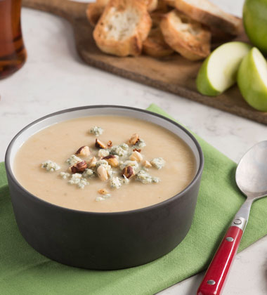Caramelized Onion and Apple Soup