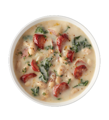 Chorizo, White Bean and Potato Soup