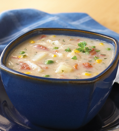 Corn and Seafood Chowder