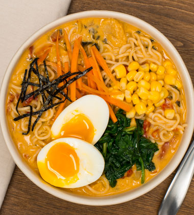 Creamy Coconut Chicken Ramen