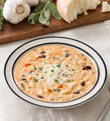 Creamy Three-Bean Stew
