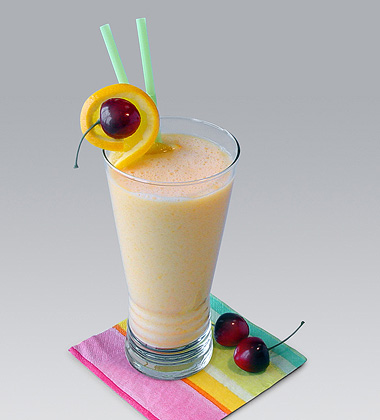 Peach Madness Smoothie