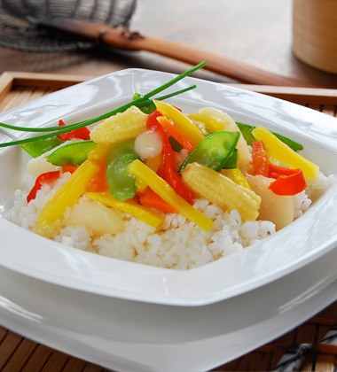 Oriental Glazed Vegetables