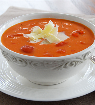 Herbed Tomato Bisque