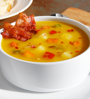 Spicy Butternut Squash Chowder