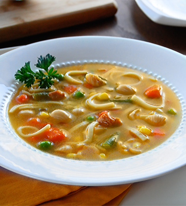 Hearty Chicken Noodle