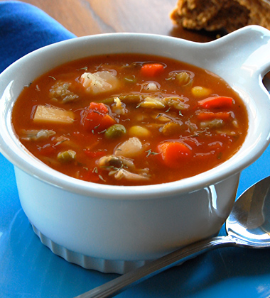 Chunky Manhattan Clam Chowder