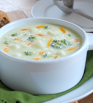 Cheesy Broccoli Chowder