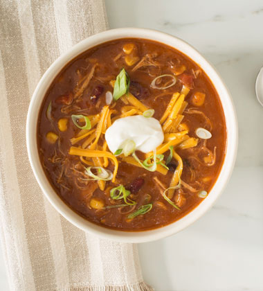 Smoked Pulled Pork and Bean Soup