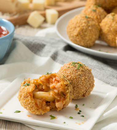 Tortilla-Crusted Arancini