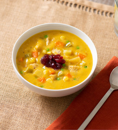 Turkey Butternut Squash Chowder