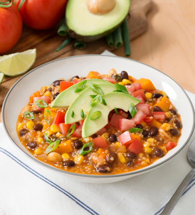 Vegan Mexican Quinoa Stew