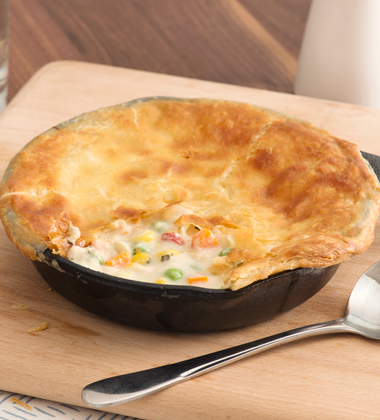 Classic Skillet Chicken Pot Pie