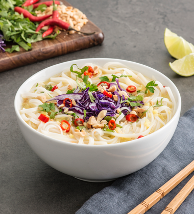 Green Curry Vermicelli Soup
