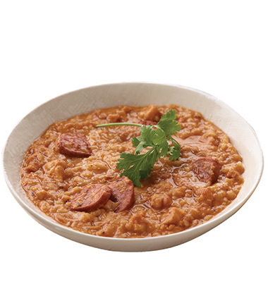 CAMPBELL'S® RESERVE JAMBALAYA WITH CHICKEN, SAUSAGE & HAM