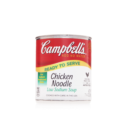 CAMPBELL'S® LOW SODIUM CLASSIC CHICKEN NOODLE
