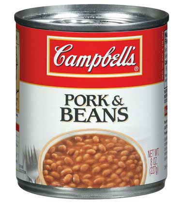 how to cook pork and beans in a can