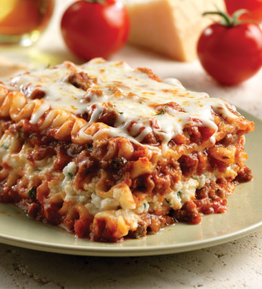 Lasagna Classic With Meat And Ricotta Campbells Food Service