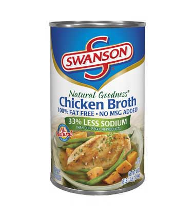 Swanson Natural Goodness Chicken Broth Campbells Food Service