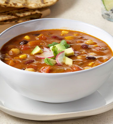 CAMPBELL'S® SIGNATURE SOUTHWESTERN VEGETARIAN CHILI