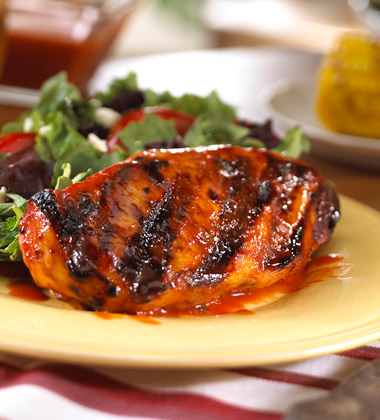 SOUTHERN STYLE BARBECUED CHICKEN