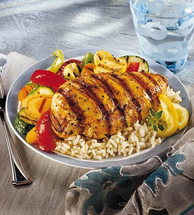 LEMON HERB GRILLED CHICKEN MADE WITH SWANSON® UNSALTED BROTH