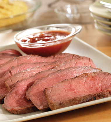 MARINATED BEEF STEAK