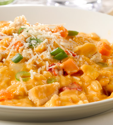 BUFFALO CHICKEN RISOTTO