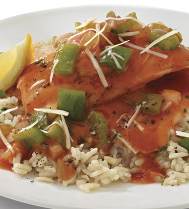 CREOLE BAKED FISH