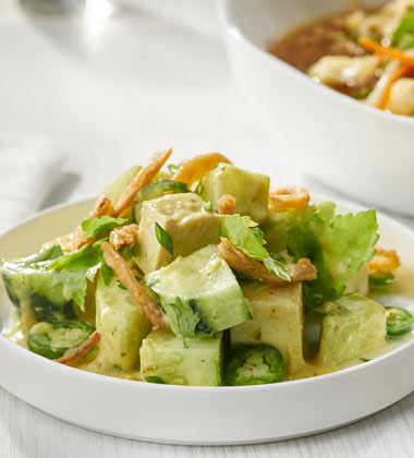 GREEN CURRY CUCUMBER SALAD