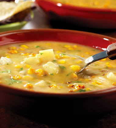CHICKEN POTATO & ROASTED CORN CHOWDER