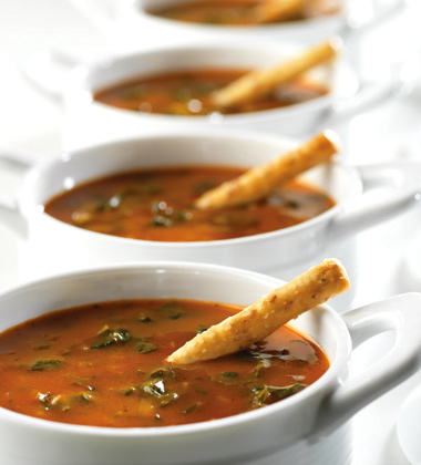 TOMATO FLORENTINE SOUP (MADE WITH CONDENSED TOMATO SOUP POUCH)