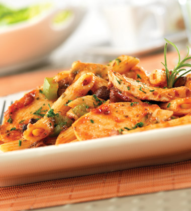 TUSCAN ROSEMARY CHICKEN WITH MUSHROOMS