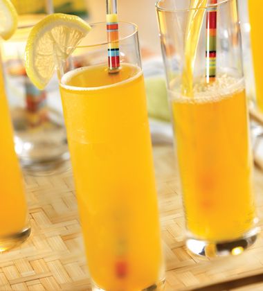 PEACH MANGO VODKA LEMONADE