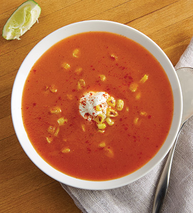 SOUTHWEST TOMATO SOUP MADE WITH CAMPBELL'S® CONDENSED TOMATO SOUP