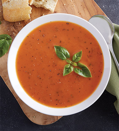 """CREAMY"" TOMATO BASIL SOUP MADE WITH CAMPBELL'S® CONDENSED TOMATO SOUP"
