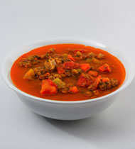 TURKEY, VEGETABLE & LENTIL SOUP