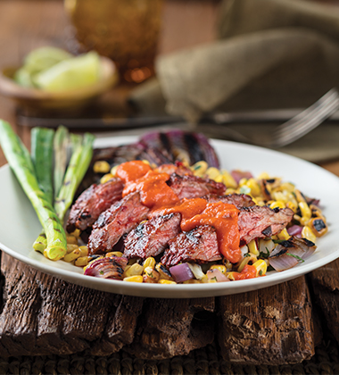 CARNE ASADA MADE WITH V8® SPICY HOT VEGETABLE JUICE