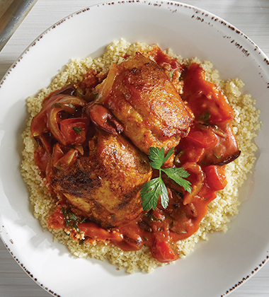CHICKEN TAGINE MADE WITH CAMPBELL'S® CONDENSED TOMATO SOUP