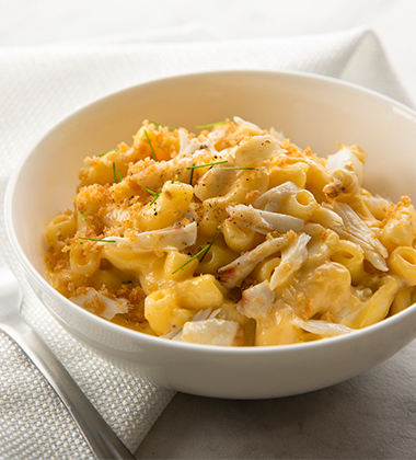 CRAB MAC & CHEESE