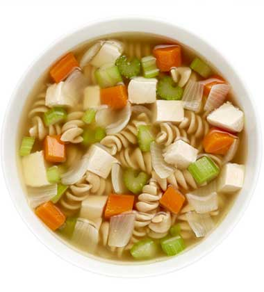 CAMPBELL'S FRESH PREPARED SOUP SPOT®: CHICKEN NOODLE SOUP WITH SOUP CUSTOMIZER TM GR. 9-12